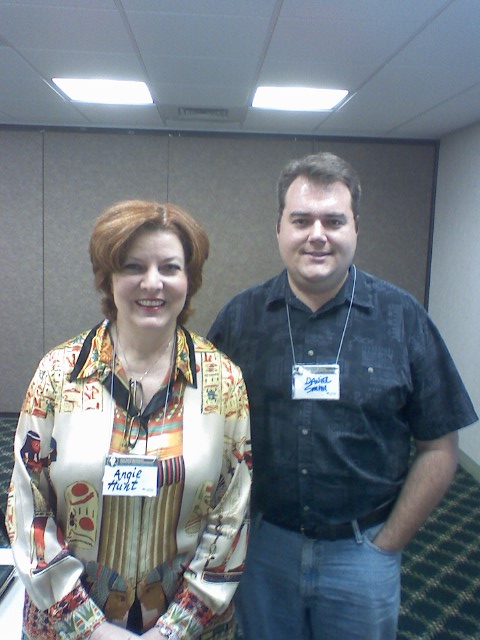 Me with Angie Hunt