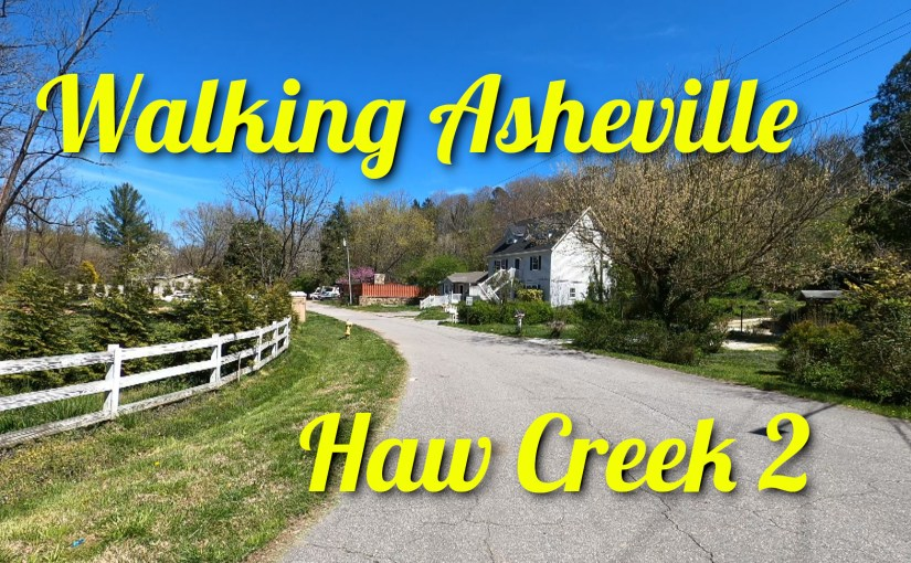 Walking Asheville – Haw Creek 2