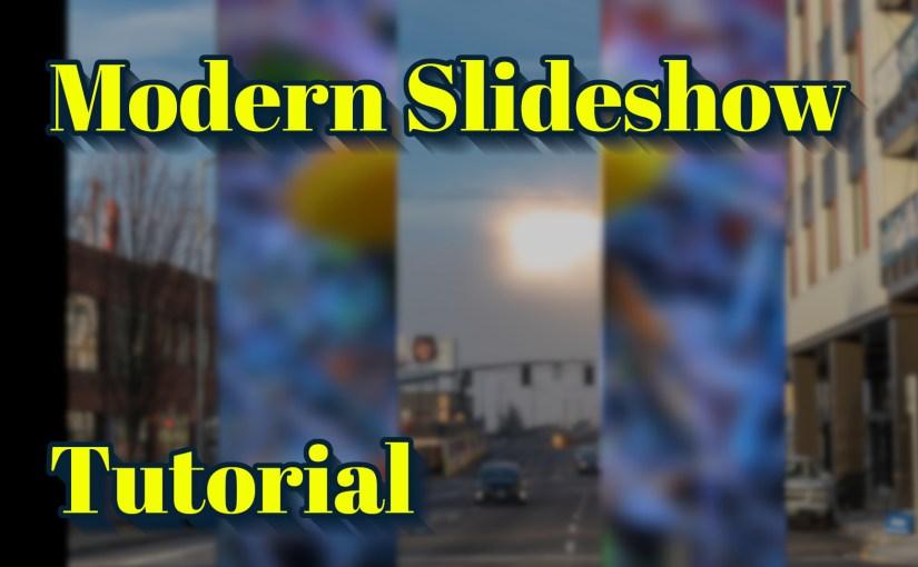 Modern Slideshow Tutorial for Vegas Pro
