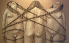 annie kurkdjian #art three sisters in chains 2013