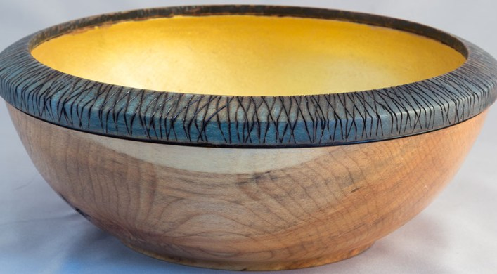 Spalted Maple with Green Rim