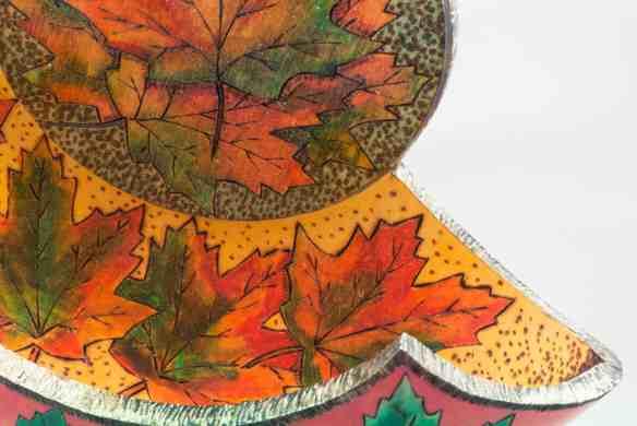 Maple Leaf Split Sculpture