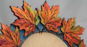 Carved Leaf Maple 285 2