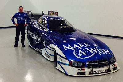 Don Schumacher Racings Make A Wish Infinite Hero Funny Cars Will Return In 2017 With Continued