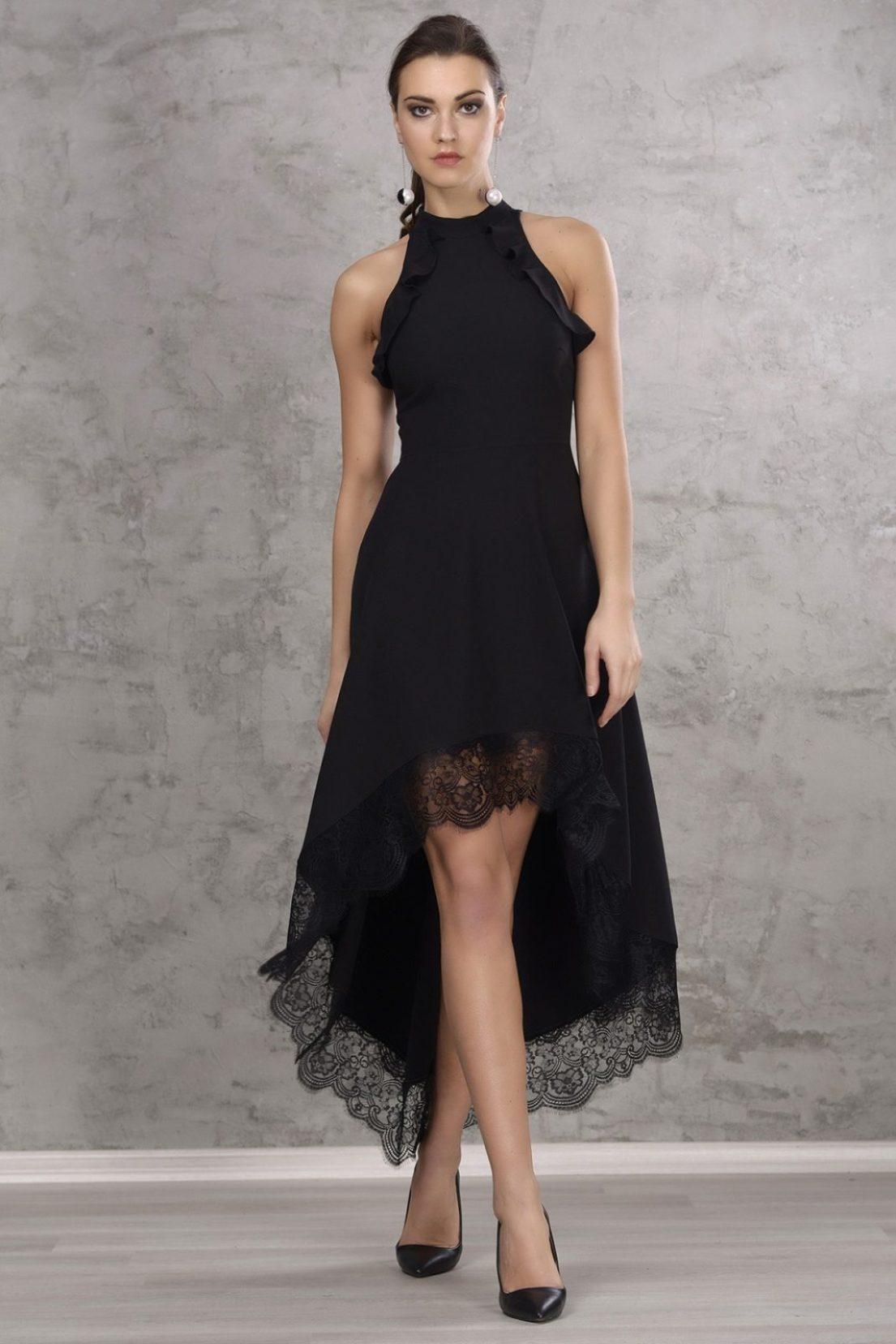rochie eleganta asimetrica