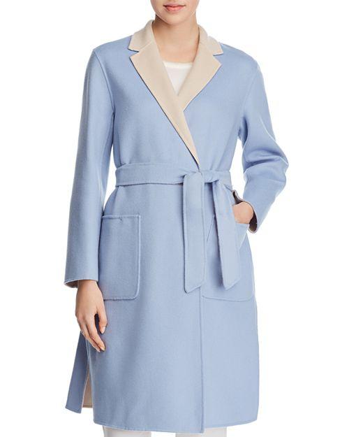 palton dama baby blue