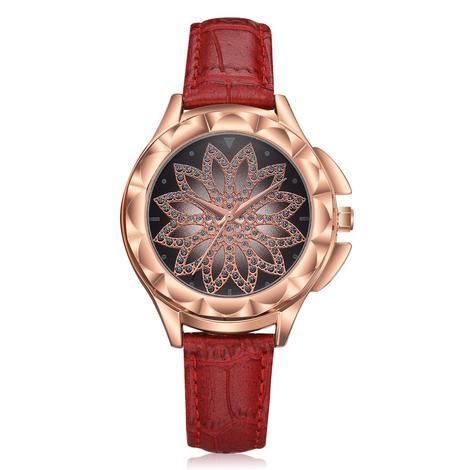 ceas dama burgundy