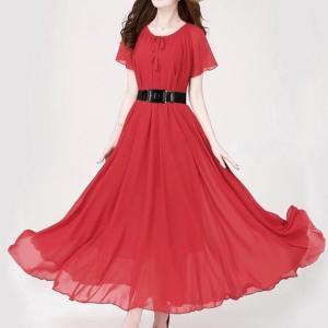 Rochie stil boem pentru femei, cu mâneci scurte, rochie pentru plajă, rochie care se poate purta pe ambele părți, potrivită pentru sinwg
