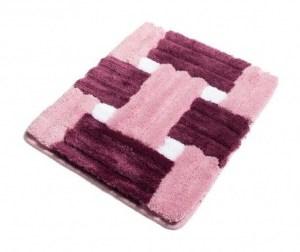 Covoras de baie Piazza Pink 50x60 cm