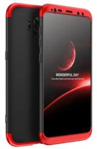 Protectie Spate GKK 360 6972170532565 pentru Samsung Galaxy S9 (Negru/Rosu)