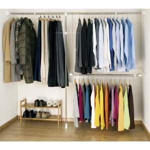 Set 3 suporturi pentru haine Wenko Garment