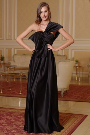 Rochie de seara din satin Glamour
