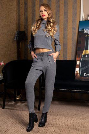 Set casual format din bluza si pantaloni Cybill