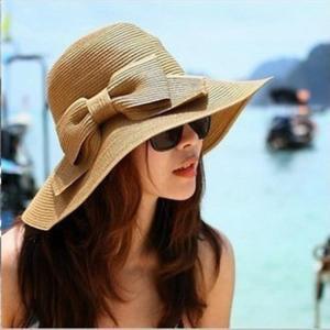 Pălărie de vară de exterior potrivită pentru plajă cu boruri largi