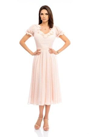 Rochie de zi midi eleganta