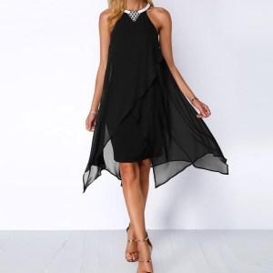 Rochie de seara eleganta din sifon