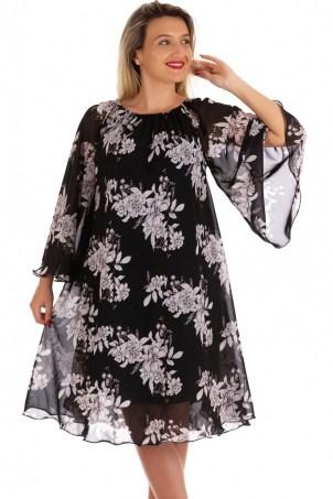 Rochie de zi din voal