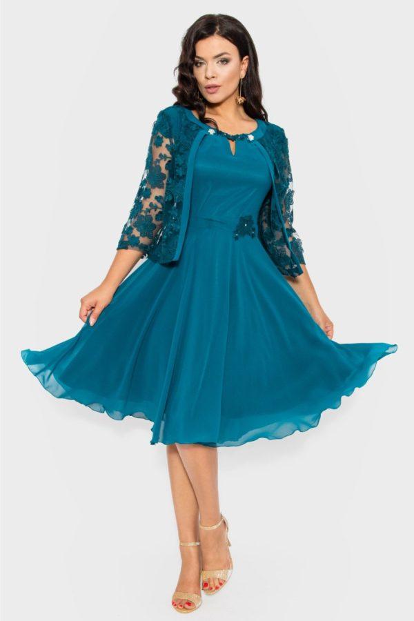Compleu dama eleganta sacou si rochie