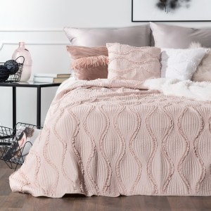 Cuvertura de pat roz