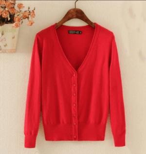 Cardigan tricotat pentru femei din material subtire