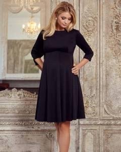 Rochie neagra eleganta pentru gravide