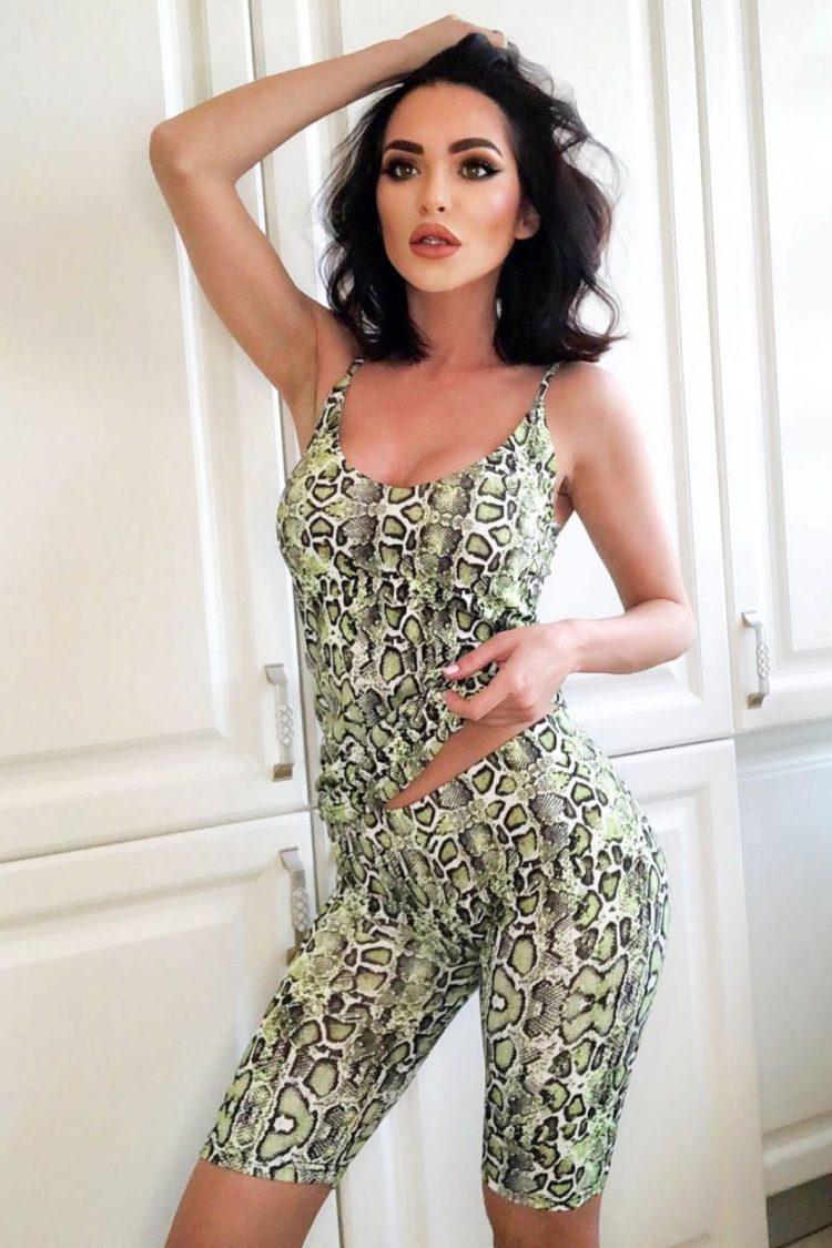 Pijama comoda cu imprimeu snake