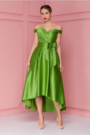 Rochie eleganta de ocazie din tafta fina