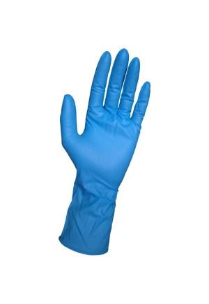 Manusi de protectie de unica folosinta nitril 3.5G Missena Albastru 200 Buc