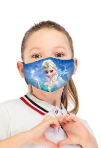 Masca protectie reutilizabila copii Elsa