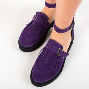Pantofi mov casual