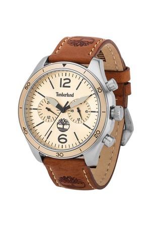 Timberland Ceas cronograf cu o curea de piele Gloucester
