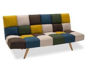 Canapea extensibila cu 3 locuri Freddo Patch Vivre