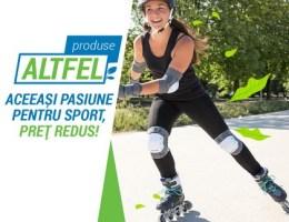 """Decathlon incurajeaza achizitiile sustenabile prin noul program """"Produse ALTFEL"""""""