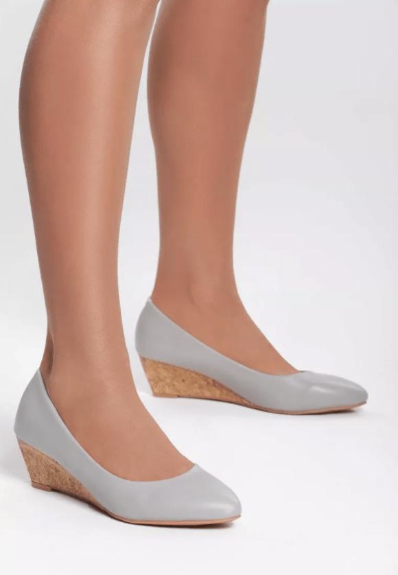 Pantofi cu platforma Turid Gri