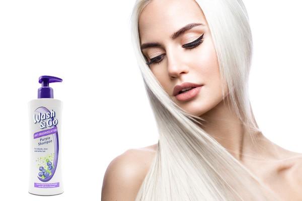 șampon neutralizator Wash&Go Purple