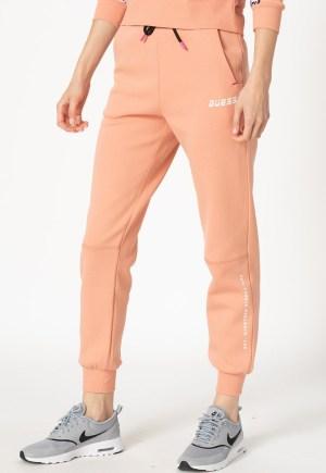 Pantaloni sport de casa cu imprimeu logo