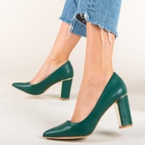 Pantofi Tiramis Verzi