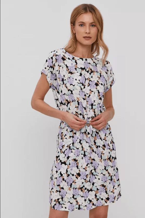 Rochie eleganta scurta Only cu imprimeu floral