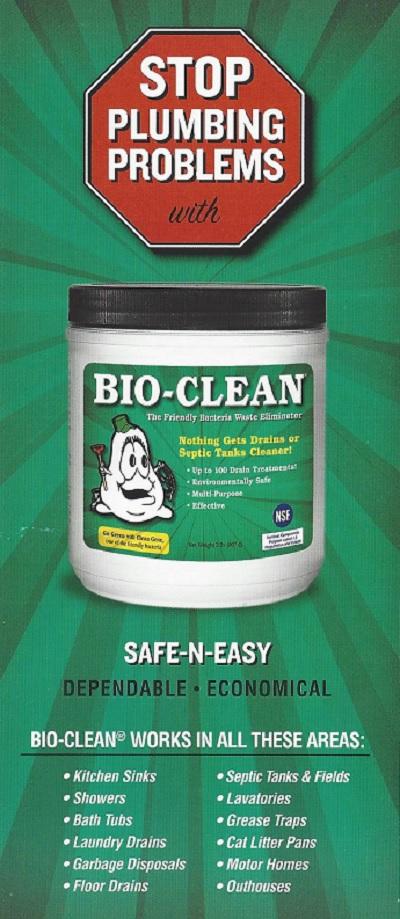 BioClean Brochure Front