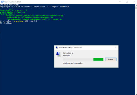 PowerShell | Donnie's PowerShell, System Management