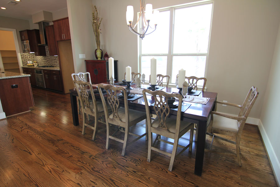Dining Room - Wood Floors