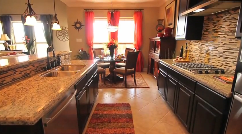 Kitchen to Breakfast area  - Tuscany Woods