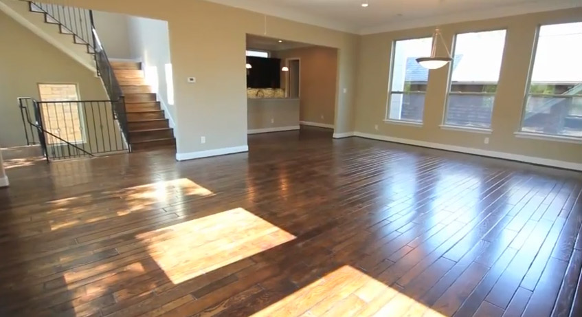 Wood floors - Drake Homes Inc