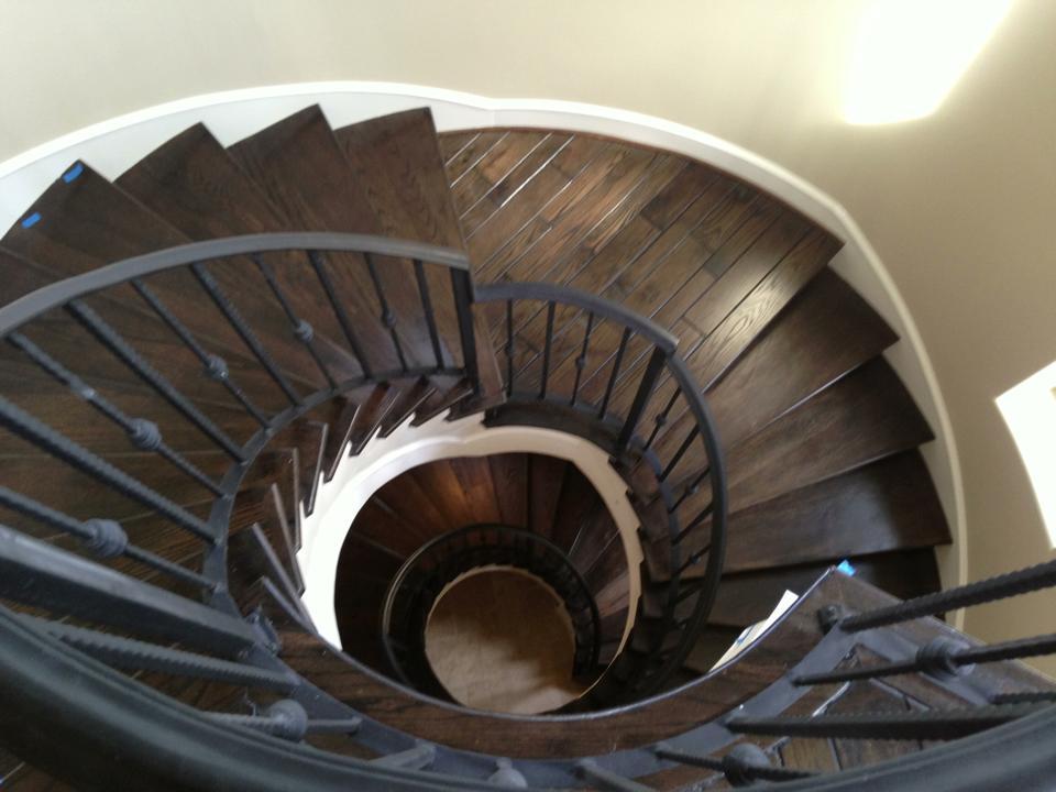 Stairwell - The Villas on Graustark