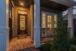 front entry Ashland Square by Drake Homes Inc. The Columbia Floorplan. http://drakehomesinc.com/?communities=ashland-square
