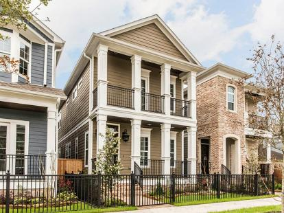 Ashland Square by Drake Homes Inc., Houston, Texas