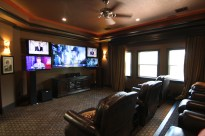 Media Room Shenandoah, TX