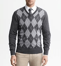 Banana Republic. Sweater - $79.50. Shirt - $79.50.