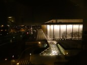 View of the Kennedy Center for the Performing Arts from the Watergate.