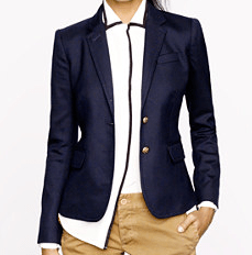 Schoolboy blazer at J.Crew. $198